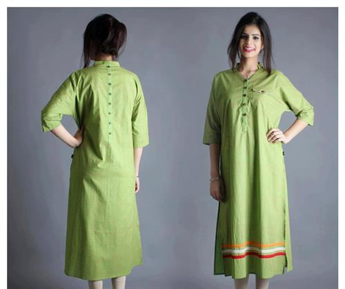 45 Easy And Beautiful Kurta Designs For Girls-Today Fashion
