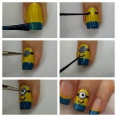 18 Easy To Make Nail Art Designs