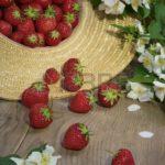 strawberries and jasmine for glowing skin