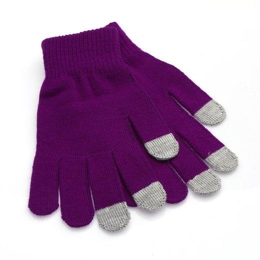 ILOVEDIY Purple Easy Click Touch Screen Winter Fashiosn Gloves for Women