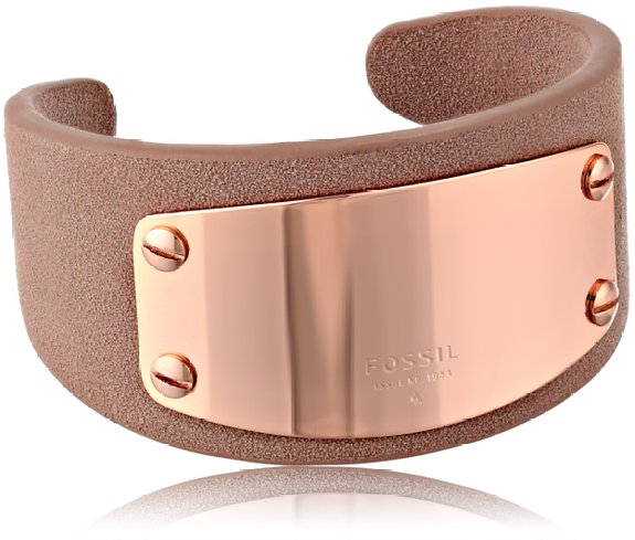 Fossil Plaque Cuff Bracelet