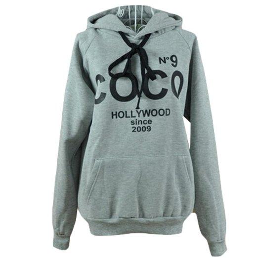 WHATWEARS Women Casual Fashion Hoodie Jacket Coat Sweatshirt
