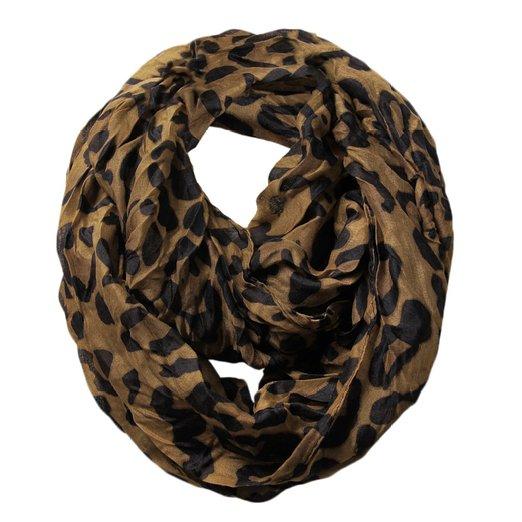Scarfand's Leopard Infinity Scarf