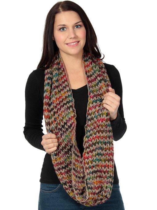 Simplicity Elegant Infinity Scarf, Knit